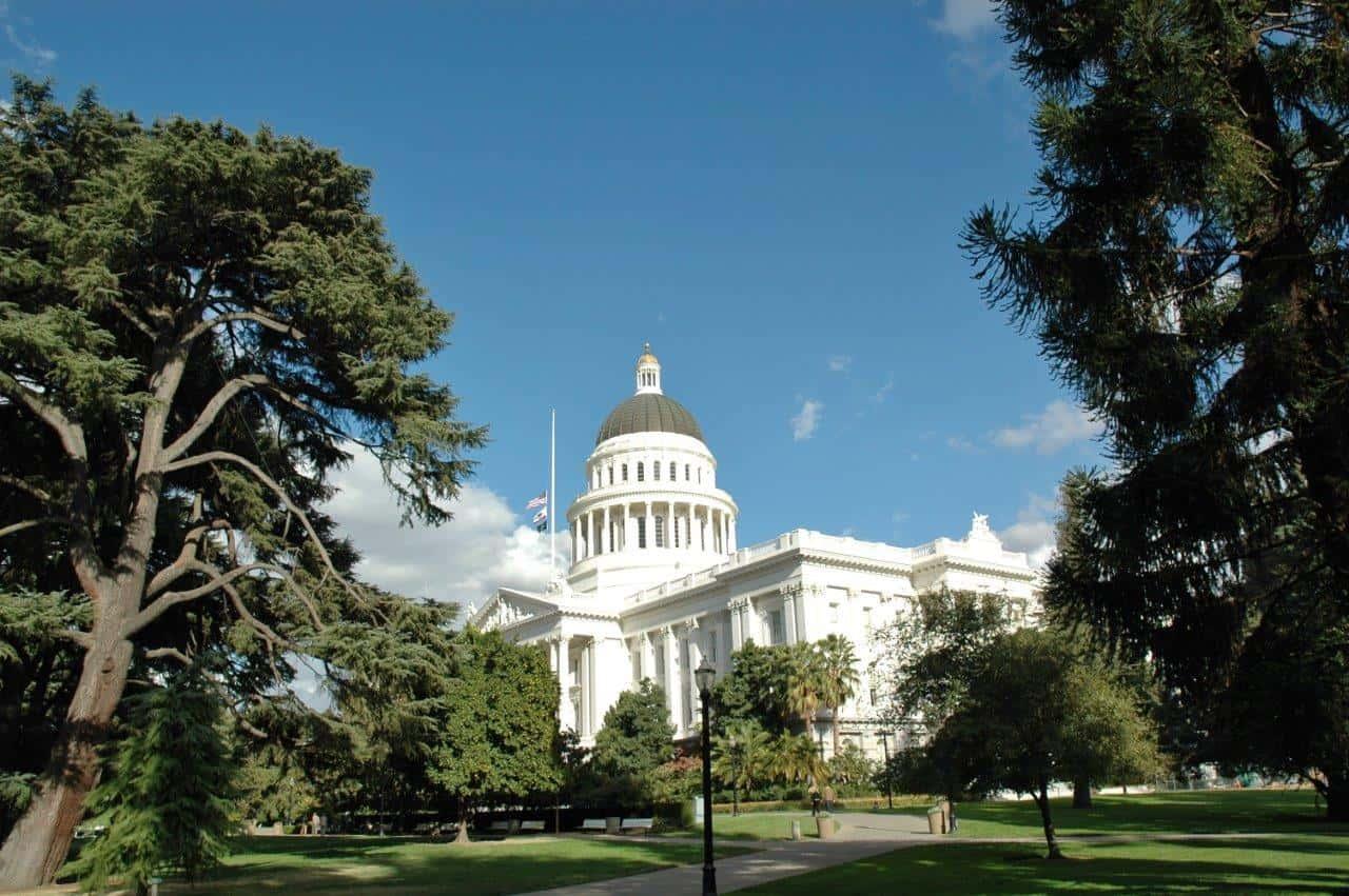 Capitol Building, Sacramento Ca
